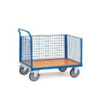 Carucioare tip container cu 3 pereti laterali