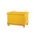 Container cu fund basculant pentru deseuri generale
